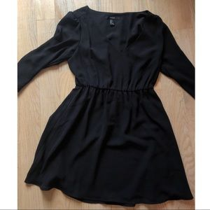 Little black dress LBD with sleeves